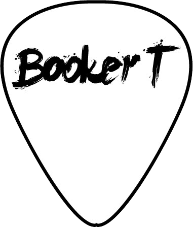 Booker T - Guitar Pic