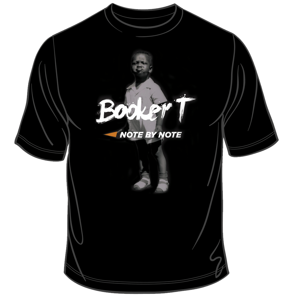 Booker T - Note By Note T-Shirt (Black)