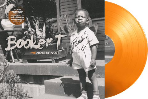 Booker T - Note By Note VINYL (AUTOGRAPHED)