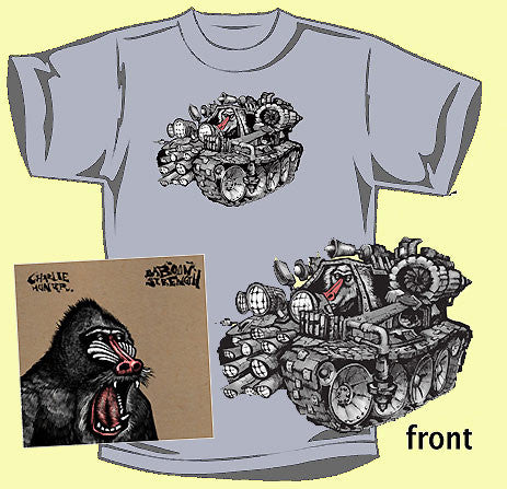 Charlie Hunter  - 'Baboon Strength' T-shirt & CD Combo