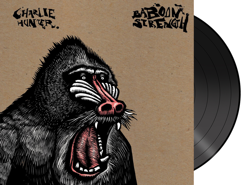 Charlie Hunter  - 'Baboon Strength' Limited Edition VINYL (Includes Download Card)