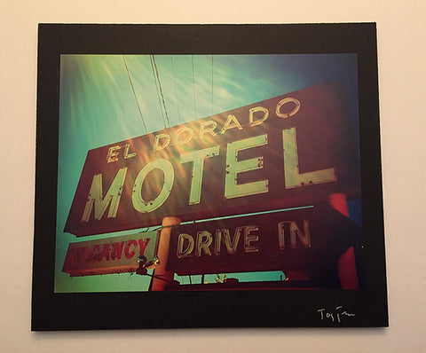 SON VOLT - AUTOGRAPHED WOOD-MOUNT PHOTOGRAPHS FROM THE ROAD + POSTER + LIMITED EDITION SIGNED VINYL + CD + DOWNLOAD WITH TWO BONUS TRACKS