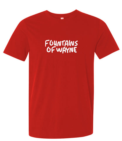 Fountains of Wayne - Handwritten Print T-shirt