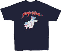 Garage A Trois - Navy Blue Bear T-Shirt