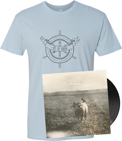GO BY OCEAN - 'Faded Photographs' VINYL EP + T-Shirt (PREORDER)