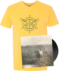 GO BY OCEAN - 'Faded Photographs' VINYL EP + T-Shirt