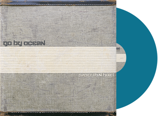 GO BY OCEAN - 'Paper Thin Hotel' VINYL (Limited Edition Colored Vinyl - Includes Download Card)