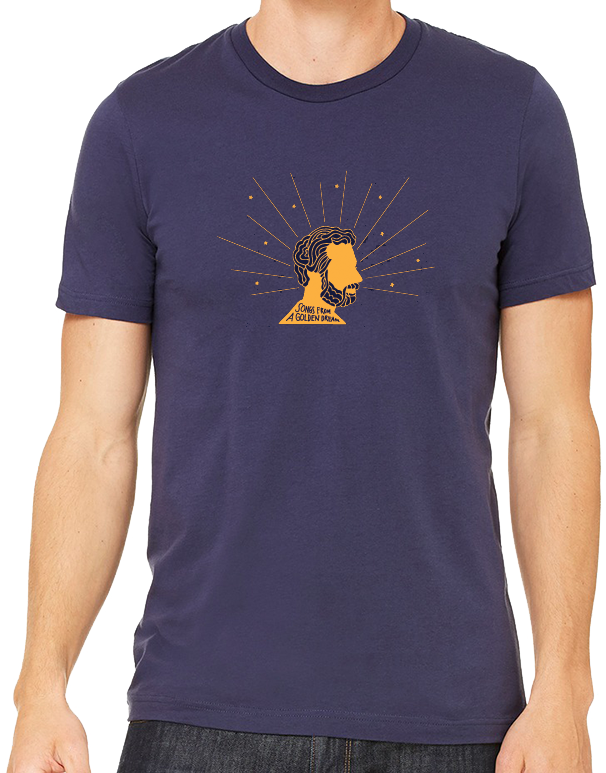Greg Loiacono - 'Songs From A Golden Dream' Blue T-SHIRT