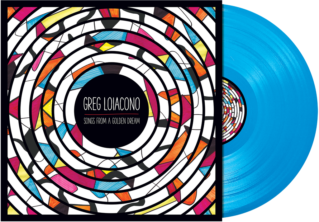 Greg Loiacono - 'Songs From A Golden Dream' VINYL (limited edition colored)