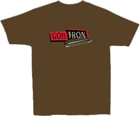 GOB IRON  - Men's Chocolate T-shirt
