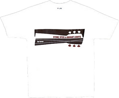 JAY FARRAR - Black Stone, Steel and Bright Lights T-shirt
