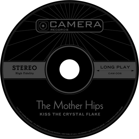 "Mother Hips ""Kiss the Crystal Flake"" CD"