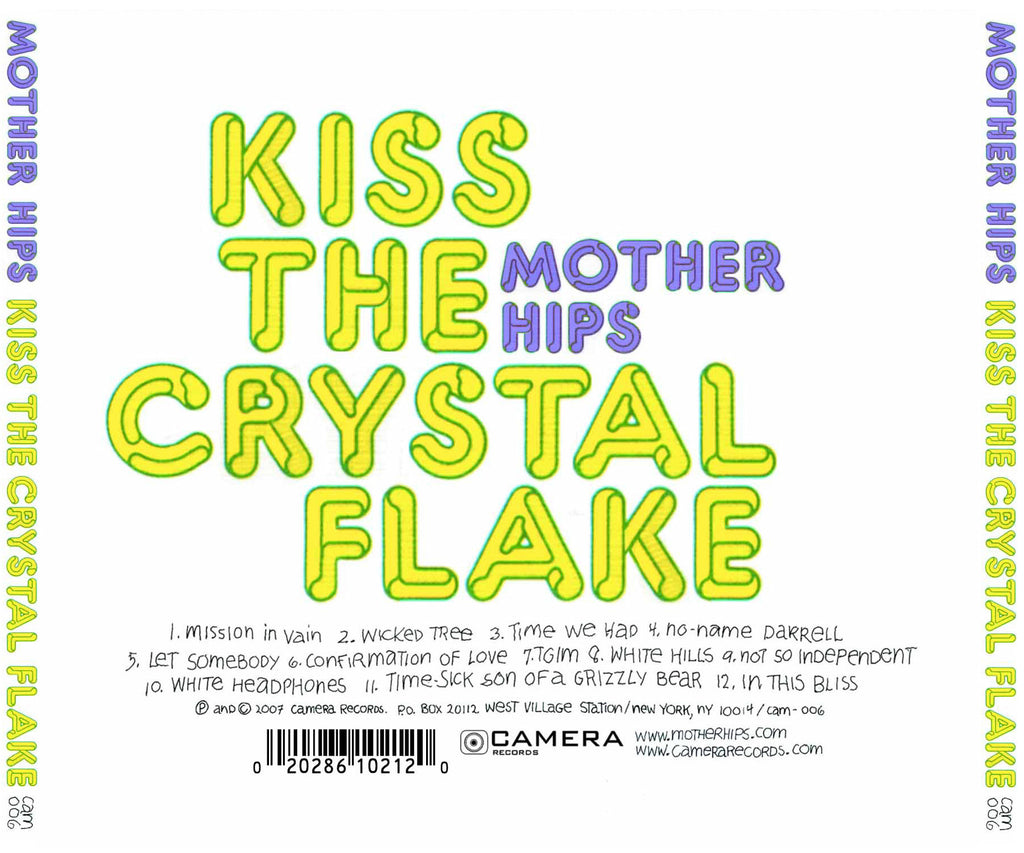 mother hips kiss the crystal flake cd fast atmosphere artist mother hips kiss the crystal flake cd