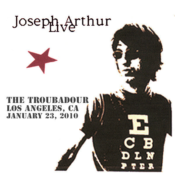 Joseph Arthur - The Troubadour - Los Angeles, CA 1/23/10 DIGITAL DOWNLOAD