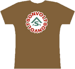 SON VOLT  - Women's Red Flower T-shirt