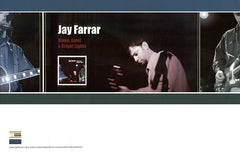 JAY FARRAR - Stone, Steel & Bright Lights Poster