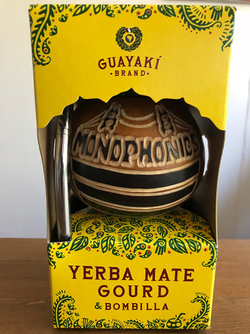 Monophonics Yerba Mate Limited Hand-made Gourd