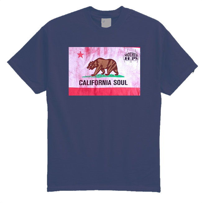 Mother Hips Navy Blue 'California Soul' T-Shirt
