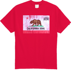 Mother Hips Red 'California Soul' T-Shirt