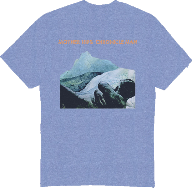Mother Hips Heather Blue 'Chronicle Man' T-Shirt