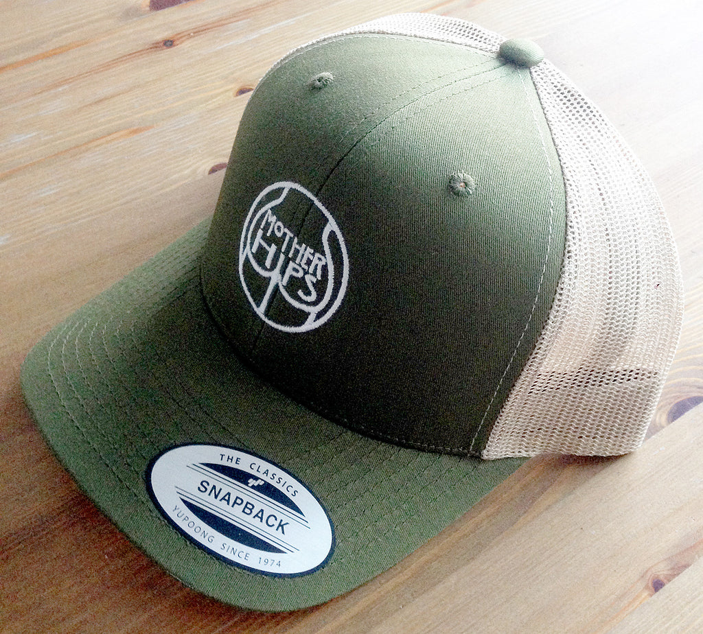 Mother Hips Green Trucker Hat