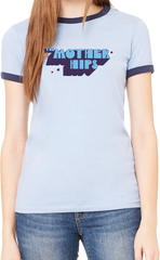 Mother Hips Women's Blue Ringer T-Shirt