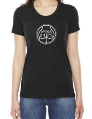 Mother Hips Ladies Logo Heather Grey T-Shirt