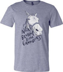 Nicki Bluhm and The Gramblers - Heather Grey T-Shirt