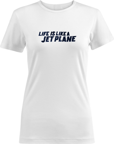 Nicki Bluhm and The Gramblers - Life Is Like A Jetplane T-Shirt