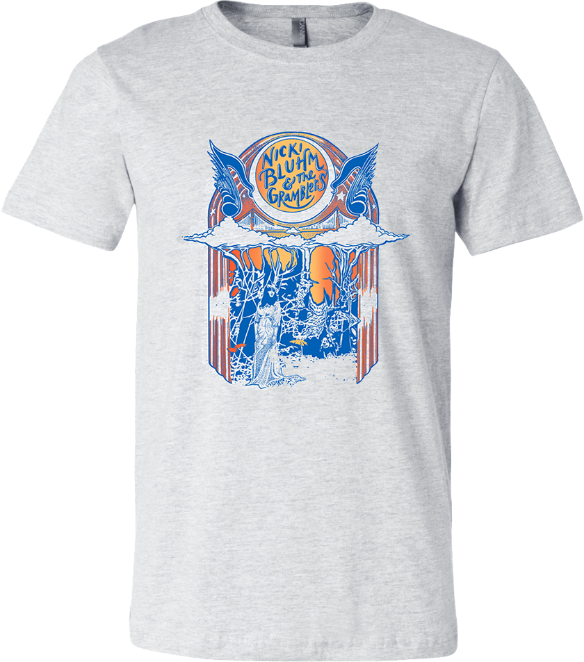 Nicki Bluhm and The Gramblers Jukebox T-Shirt