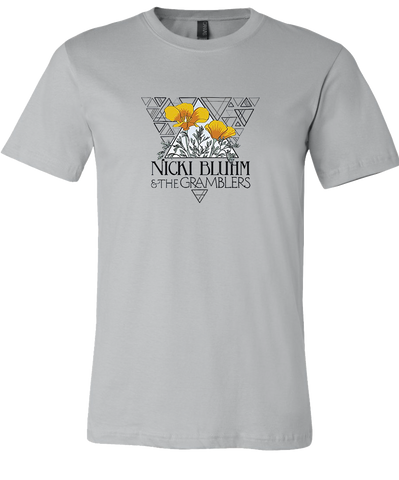 Nicki Bluhm and The Gramblers California Poppy T-Shirt
