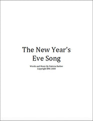 "Patricia Barber ""The New Year's Eve Song"" Sheet Music DIGITAL"
