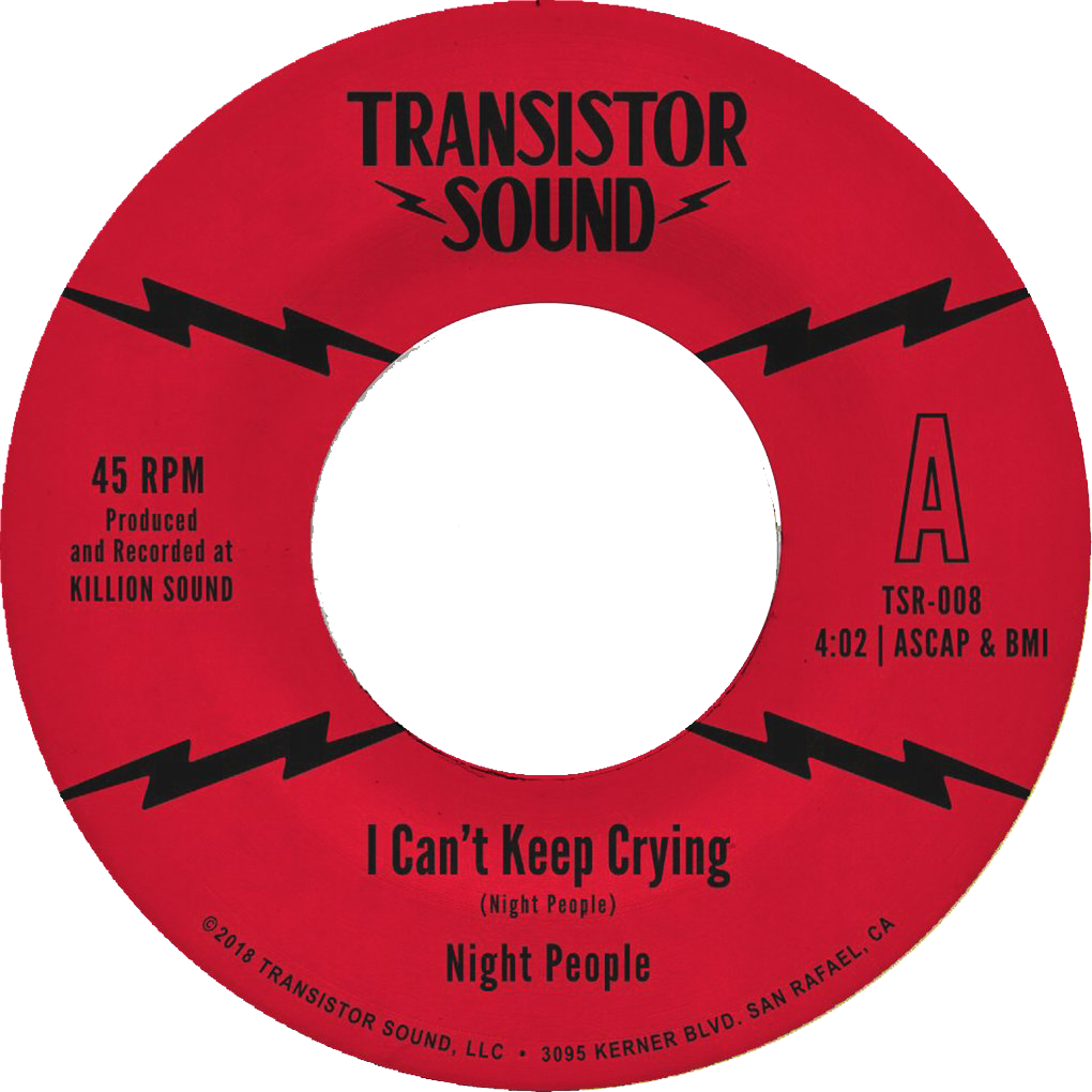 "Night People - ""I Can't Keep Crying"" 7-inch VINYL"