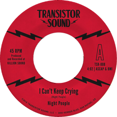 "Monophonics - ""I Can't Keep Crying"" 7-inch VINYL"