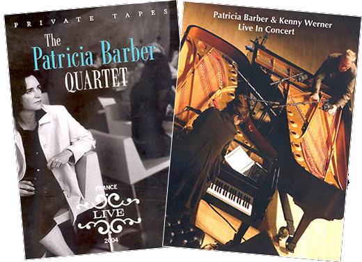Patricia Barber DVD BUNDLE (Live: France 2004 DVD + Patricia Barber & Kenny Werner - Live In Concert 2005
