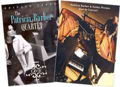 Patricia Barber DVD BUNDLE (Live: France 2005 DVD + Patricia Barber & Kenny Werner - Live In Concert