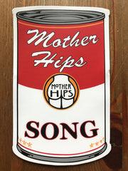 Mother Hips Song In A Can Sticker
