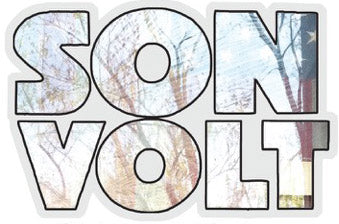 SON VOLT - UNION TRANSPARENT VINYL STICKER