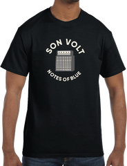 SON VOLT - Notes of Blue Black Amp T-SHIRT