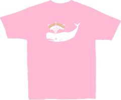 SON VOLT - Toddler Pink Whale T-shirt