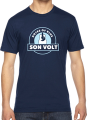 SON VOLT - Notes of Blue Navy Guitar T-SHIRT