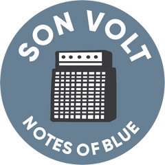 SON VOLT - Notes of Blue STICKER