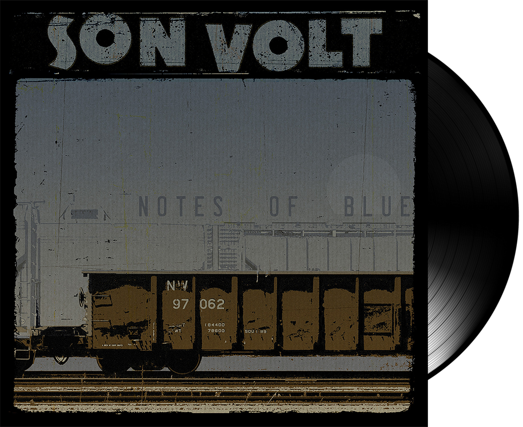 SON VOLT - Notes of Blue VINYL (LIMITED ALTERNATE COVER) + DOWNLOAD w/ TWO BONUS TRACKS