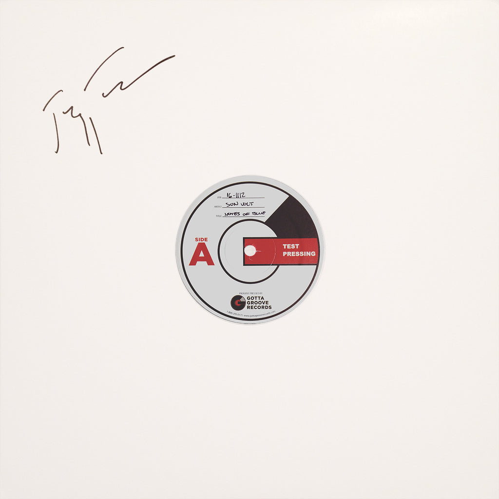 SON VOLT - AUTOGRAPHED Notes of Blue TEST PRESS VINYL + DOWNLOAD WITH TWO BONUS TRACKS
