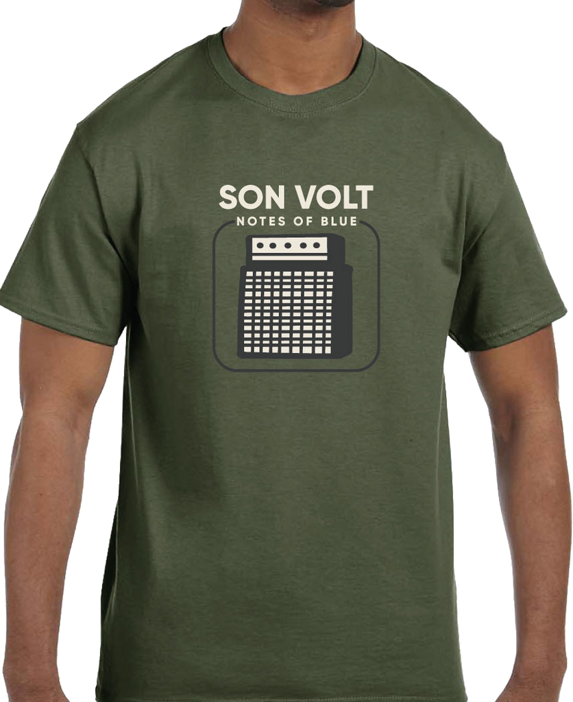 SON VOLT - Notes of Blue Olive Amp T-SHIRT