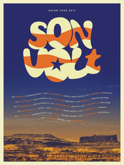 Copy of SON VOLT - 'Union' Limited Edition Tour Poster (September - October 2019)