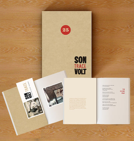 SON VOLT - Limited Edition 25th Anniversary Trace BOOK