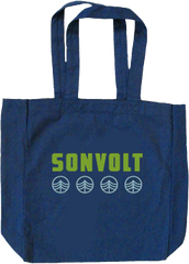 SON VOLT - Navy Blue Water Tote Bag