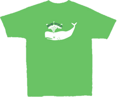SON VOLT - Toddler Green Whale T-shirt