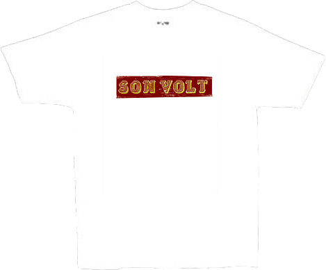 SON VOLT - White Wood Cut T-shirt